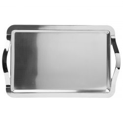 Rectangular tray 60x40 cm with handles