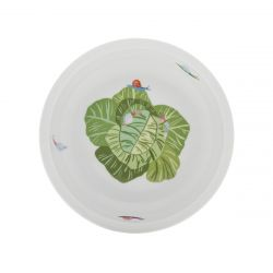 Round cereal plate 17 cm