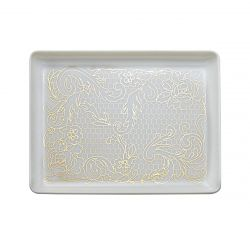 Small rectangular tray 16x12 cm