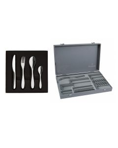 50 pieces solid handle serrated box set