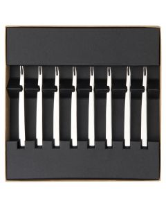 Gift box of 8 cockail/snail forks