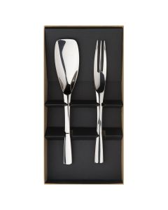 Gift box of 2 pieces cutlery serving set