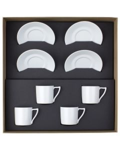 Gift box of 4 coffee set