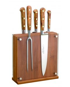 Bloc of 5 knives