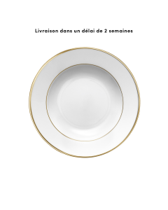 Round cereal plate 22.5 cm