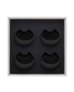 Gift box of  4 gourmet bowls 30 cl
