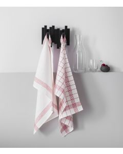 Set of 2 kitchen towels for glass 50x70 cm