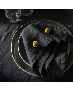 Set of 2 napkins 45x45 cm . 17 in 11/16x17 in 11/16