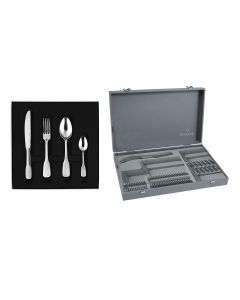 50 pieces solid handle box set serrated