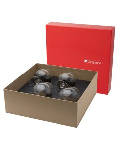 Gift box of 4 cognac glasses 61 cl