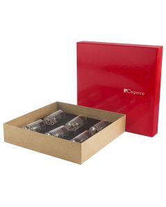 Gift box of 6 shooters glasses 57 ml