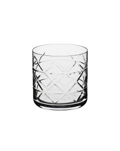 Gift box of 4 whisky tumbler 37 cl