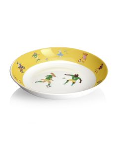 Round cereal plate 19 cm